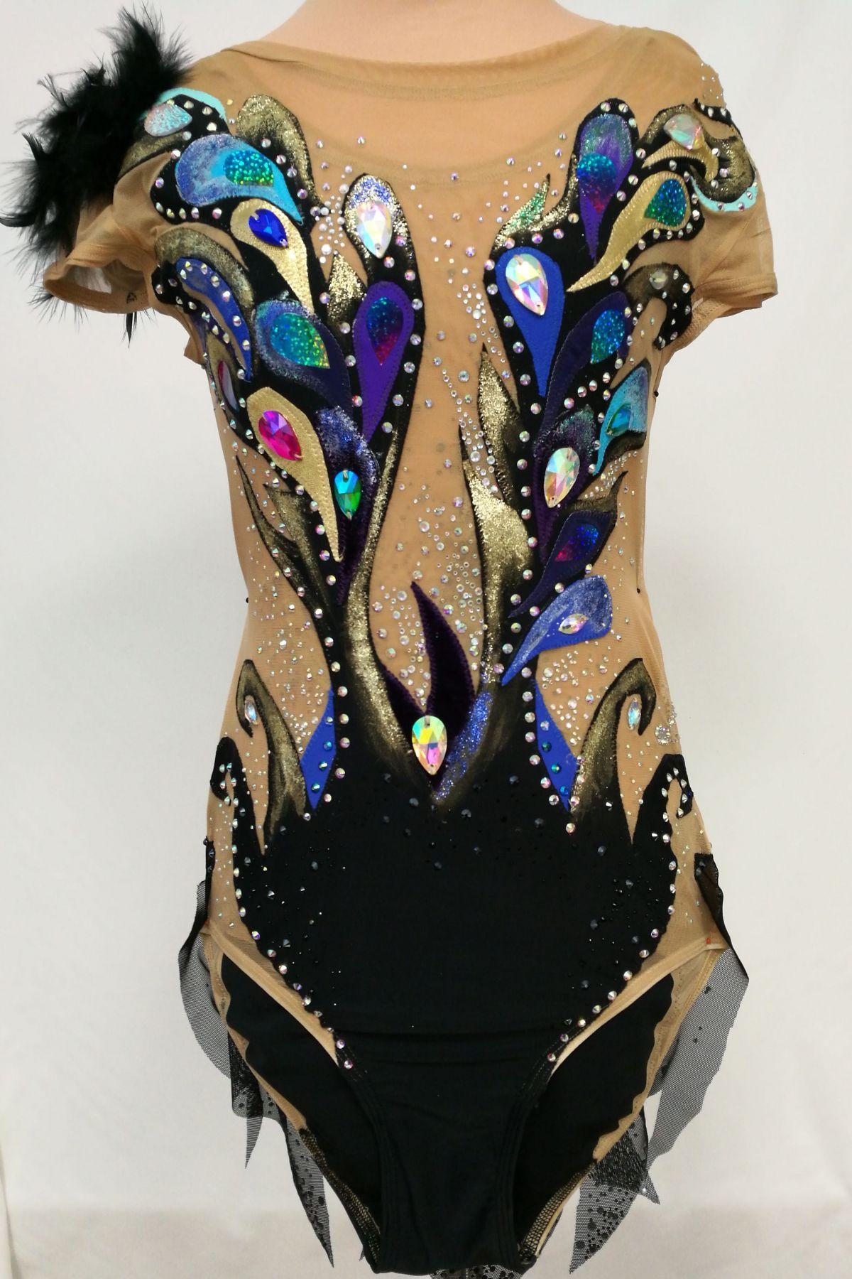 167f1e0185b98 Gymnastické súťažné dresy - LOOK sport